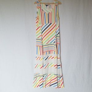 Peter Som maxi dress size large.